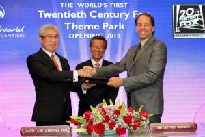 أول حديقة فوكس بالعالم في ماليزيا